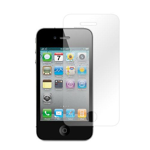 AT&T/ Verizon Apple iPhone 4, iPhone 4S Anti-Microbial Screen Protector - Clear