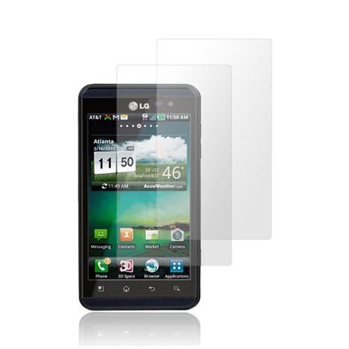 Premium LG Thrill 4G Screen Protector (2 Pack) - Clear