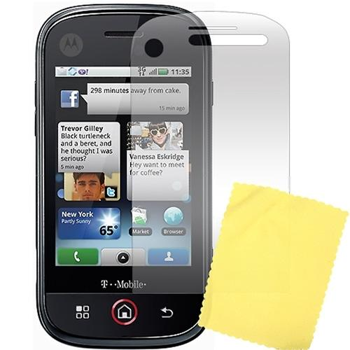 Premium Motorola CLIQ High Quality Screen Protector