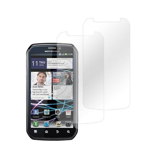 Premium Motorola Photon 4G Screen Protector - Clear (2 Pack)