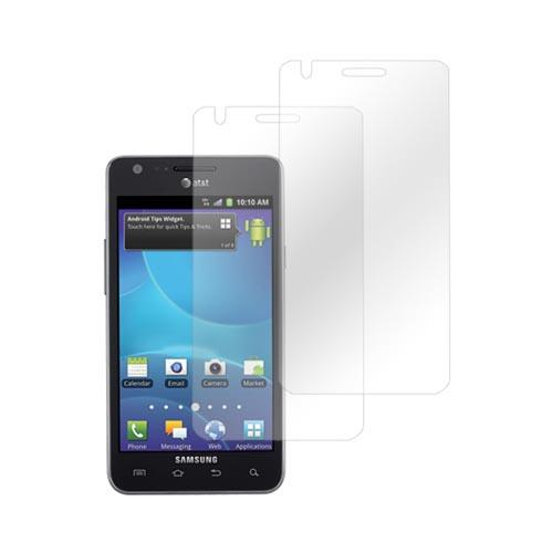 Premium AT&T Samsung Galaxy S2 Screen Protector (2 Pack) - Clear