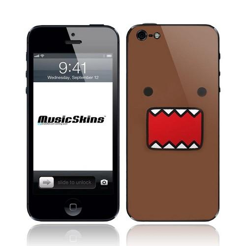 Music Skins Domo Face Protective Skin for Apple iPhone 5/5C/5S