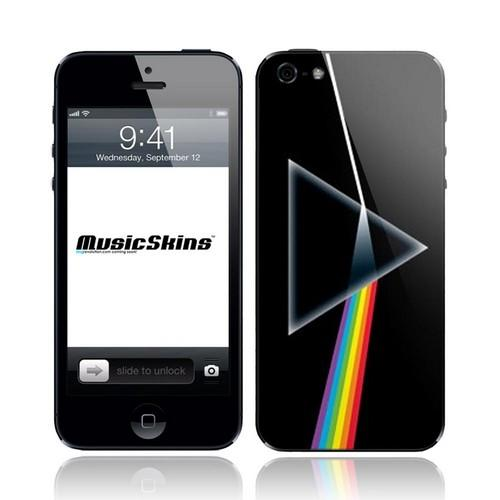 Original Music Skins Apple iPhone 5 Protective Skin - Pink Floyd The Dark Side Of The Moon