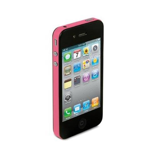 Original TruePower Apple iPhone 4 Thin Skin - Neon Pink