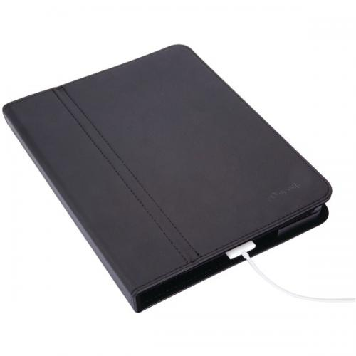 SPECK SPK-A0099 IPAD(TM) DUSTJACKET (BLACK LEATHERETTE)