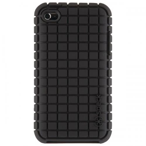 SPECK SPK-A0113 IPOD TOUCH 4G PIXELSKIN CASE (BLACK)