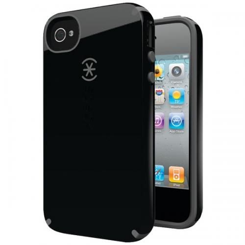 SPECK SPK-A0773 IPHONE(R) 4S CANDYSHELL CASE (BLACK/DARK GRAY)