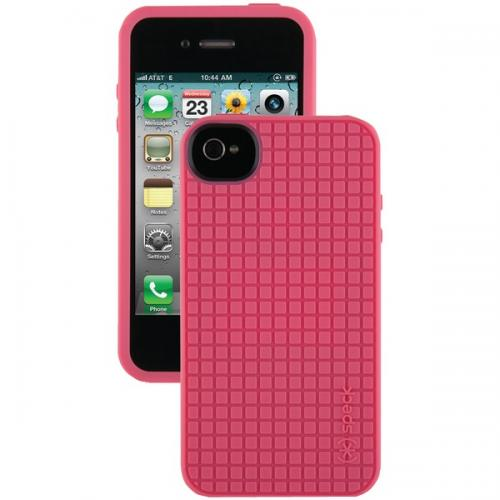 SPECK SPK-A0785 IPHONE(R) 4S PIXELSKIN HD CASE (FRENCH ROSE)