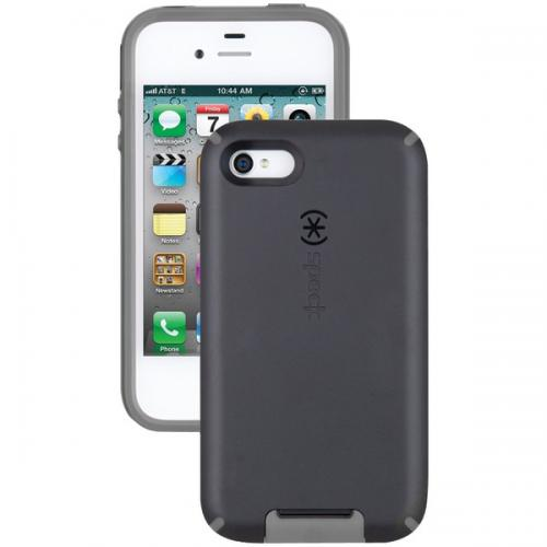 SPECK SPK-A0801 IPHONE(R) 4S CANDYSHELL VIEW CASE(BLACK/DARK GRAY)