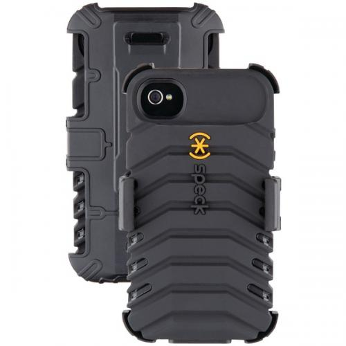 SPECK SPK-A0815 IPHONE(R) 4S TOUGHSKIN CASE (BLACK)