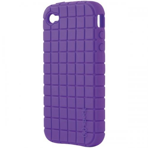 SPECK IPH4-PXL-A14-A IPHONE 4 PIXELSKIN CASE (PURPLE)