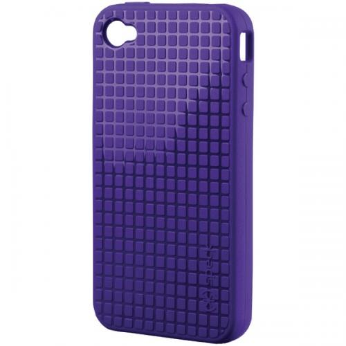 SPECK IPH4-PXLHD-A14-A IPHONE 4 PIXELSKIN HD CASE (PURPLE)
