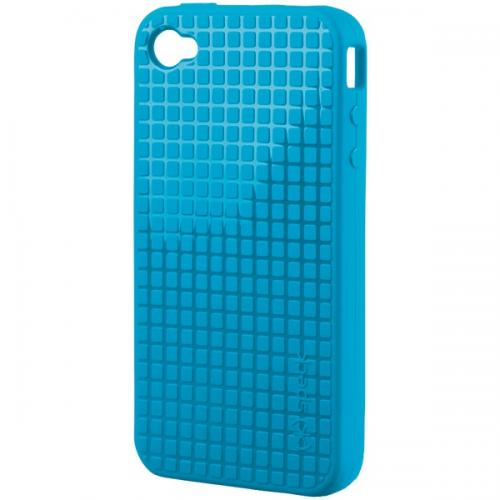 SPECK IPH4-PXLHD-A19-A IPHONE 4 PIXELSKIN HD CASE (BLUE)
