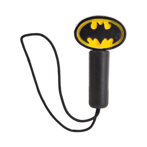 Original Warner Bros. Universal 3.5mm Headphone Jack Stopple Charm - Batman