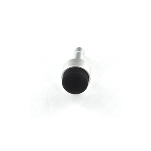 Universal 3.5mm Headphone Jack Stopple Charm/ Stylus - Silver