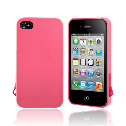 Original SwitchEasy AT&T/ Verizon Apple iPhone 4, iPhone 4S Lanyard Hard Case w/ Screen Protector & Lanyard Attachment, SW-LAN4S-P - Melon Hot Pink