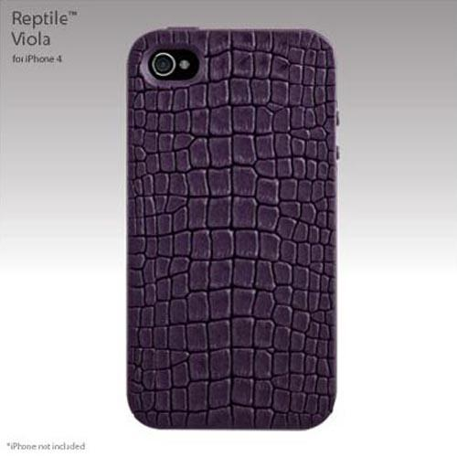Original SwitchEasy Apple iPhone 4 Reptile Hybrid Case, SW-REI4-PU - Viola