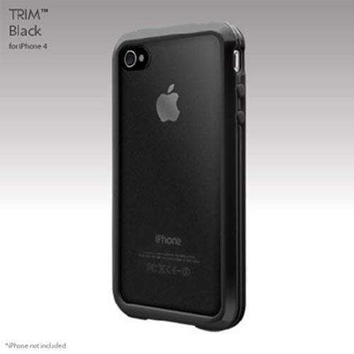 Original SwitchEasy Apple AT&T/ Verizon iPhone 4, iPhone 4S TRIM Hybrid Case, SW-TM4-BK - Black