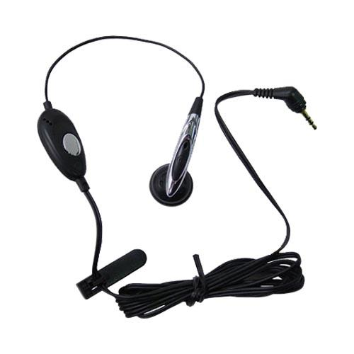 Original Motorola Mono Push-to-Talk Headset, SYN8419C - Black (2.5mm)