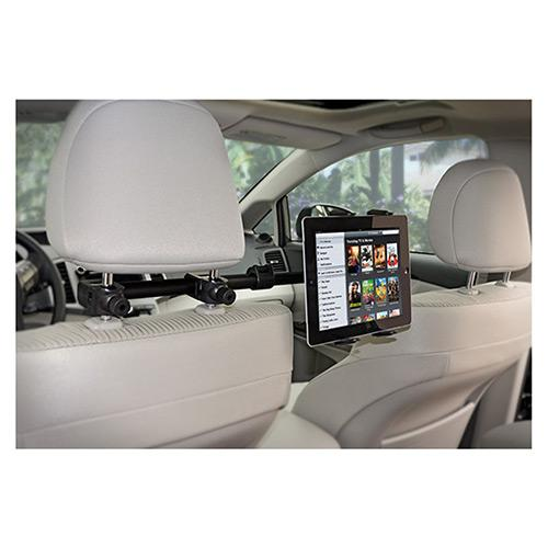Arkon Deluxe Headrest Tablet Mount for Centered Backseat Viewing