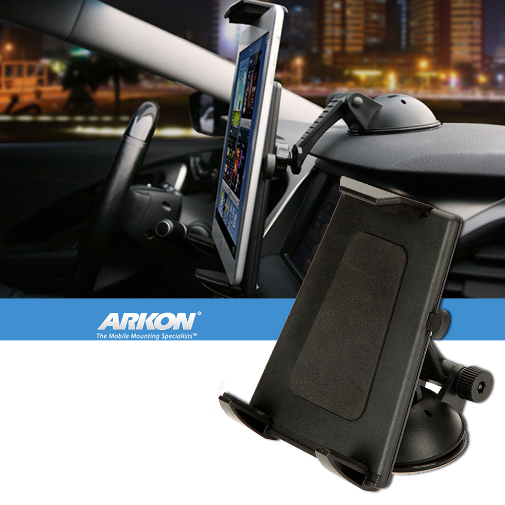 Arkon Flat Surface Tablet Mount with Adhesive Suction Base