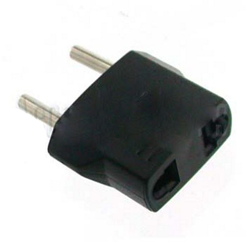 European Non-Grounded Travel Adapter Plug