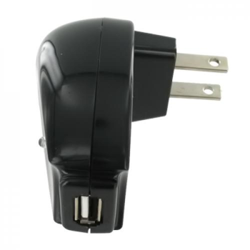 Premium Universal USB Travel and Home Charger - Black