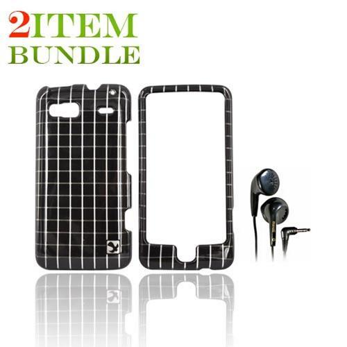 T-Mobile G2 Bundle Package - Hard Case & Maxell Stereo Earbuds - (College Combo)