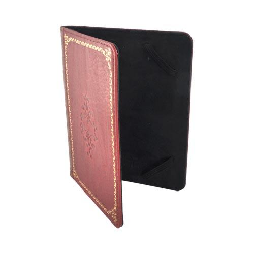 Original LightWedge Prologue Universal E-Reader Cover Case, VR038-100-23 - Red Antique Book