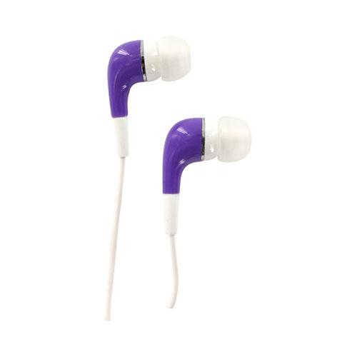 Original VIBE Sound Universal Earbud Stereo Headset (3.5mm), VS-505-PRL - Purple
