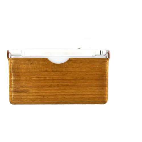 """Exclusive"" TPhone Eco-Design Nintendo DS Lite Wood Finish Hard Back Cover Case - Light Beech Wood"