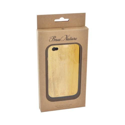 """Exclusive"" TPhone Eco-Design Apple Verizon/ AT&T iPhone 4, iPhone 4S 100% Hard Back Cover Case - Jack Fruit Wood"