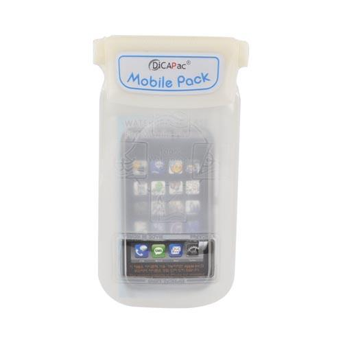 Original DICAPac Universal Waterproof Cell Phone Case, WP-C10S - White (9.6x20.3cm)