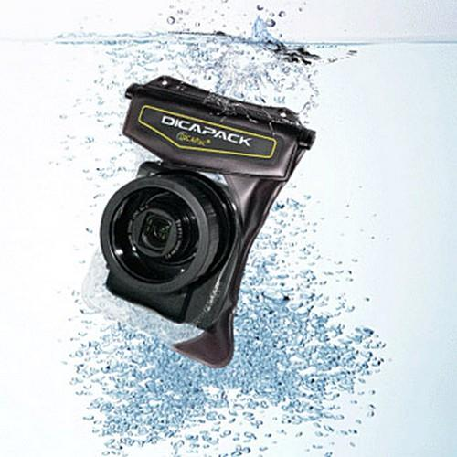 DICAPac WPH-10 High-End Waterproof Digital Camera Case for Cameras w/ Zoom Lens