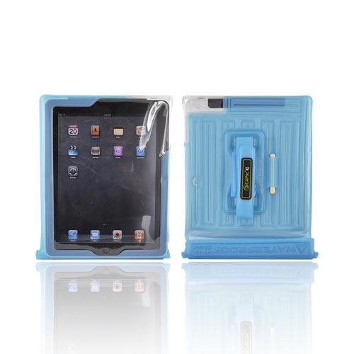 Original DICAPac Apple iPad (All Gen.) Waterproof Case w/ Handle & Stand, WP-i20 - Blue