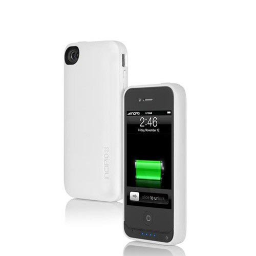 Incipio OffGrid PRO Apple iPhone 4/4S Hard Charging Case, IPH-700 - White