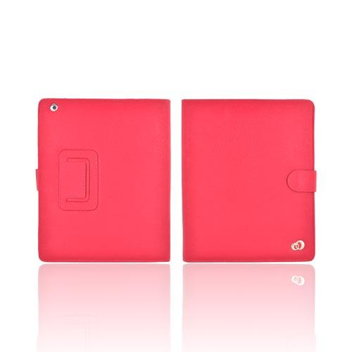 Original Kroo USA Apple iPad (All Gen.) Leather Stand Case, MIA3ECM1 - Magenta