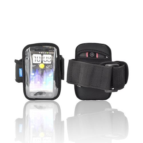 Original Arkon Universal Neoprene Sports Armband w/ Velcro Closure for Large Smartphones, XL-ARMBAND - Black