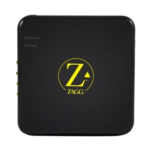 Original Zagg Sparq 2.0 Universal High Capacity Portable Backup Battery & Charger w/ Optimized & General USB Port (6,000 mAh) - Black/ Yellow (Charges Smartphone and Tablet Simultaneously!)